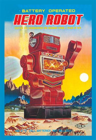 Battery Operated Hero Robot