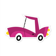 Caleb Gray Studio: Purple Car