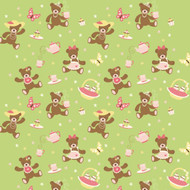 Caleb Gray Studio: Teddy Bear Picnic Wall Tile