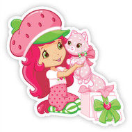 Strawberry Shortcake with Cupcake & Present