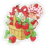 Classic Strawberry Shortcake with Strawberry Basket
