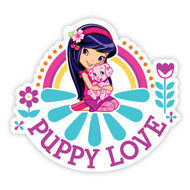 Puppy Love I Wall Badges