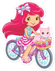Strawberry Shortcake & Cupcake On Bike