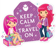 Strawberry Shortcake Keep Calm and Travel On