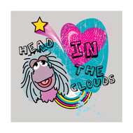Fraggle Rock Head in The Clouds Wall Square