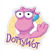 The WotWots Dottywot Badge