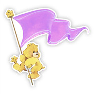 Care Bears Funshine Bear Flag