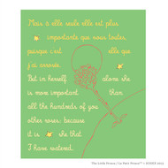 Le Petit Prince 'in Herself Alone She is More Important'