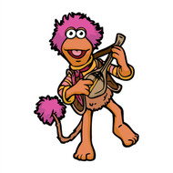 Fraggle Rock Gobo Playing Wall Cutout