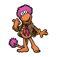Fraggle Rock Gobo Pointing Wall Cutout