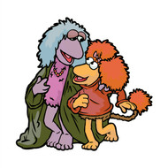 Fraggle Rock Mokey & Red Wall Cutout
