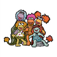 Fraggle Rock Big Group Wall Cutout (Animated Series)