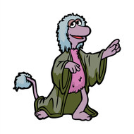 Fraggle Rock Mokey Pointing (Animated Series)
