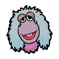 Fraggle Rock Mokey Happy Face