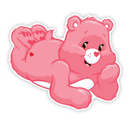 Care Bears Love-A-Lot Bear Relaxing