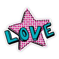 Fraggle Rock Love Wall Badge