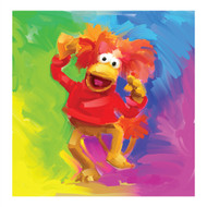 Fraggle Rock Red Pop Art