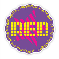 Fraggle Rock Red Wall Badge