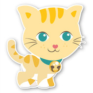 Paddleduck Wall Decals: Carrie Cat