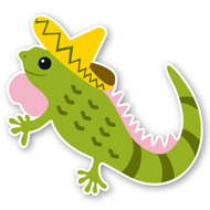 Paddleduck Wall Decals: Iggy Iguana