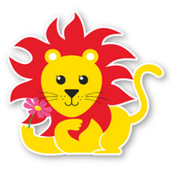 Paddleduck Wall Decals: Lenny Lion