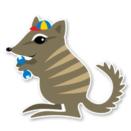 Paddleduck Wall Decals: Ned Numbat