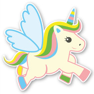 Paddleduck Wall Decals: Uma Unicorn
