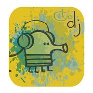 Doodle Jump Wall Badge: Club DJ
