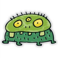 Green Monster (Three Eyes)