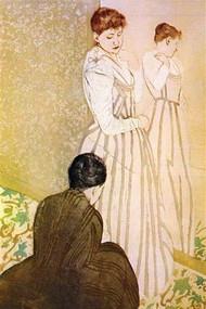 Fitting by Mary Cassatt