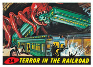 Mars Attack #34: Terror In The Railroad