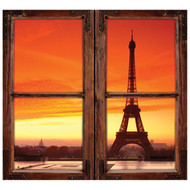 Window Views Eiffel Tower