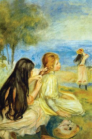 Girls by the Seaside by Renoir