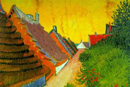 Saintes-Maries Road through the Town by Vincent Van Gogh