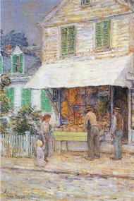 Provincial Town by Hassam