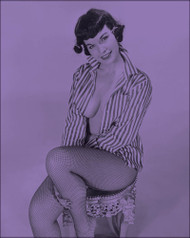Bettie Page XII (Multiple Color Options)