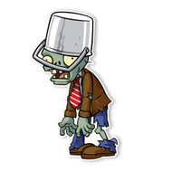 Plants vs. Zombies 2: Buckethead Zombie