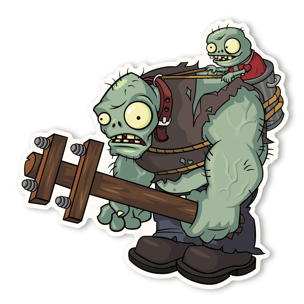 Cartoon Zombie Coloring Pages