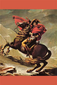 Napoleon Crosses The Great St Bernard Pass by David