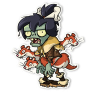 Plants vs. Zombies 2: Weasel Hoarder Zombie 2