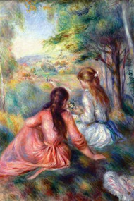 in The Meadow by Renoir