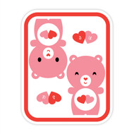 Yummi Bear Love-a-Lot I Love U Badge