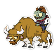 Plants vs. Zombies 2: Zombie Bullrider
