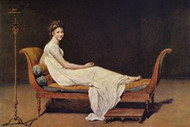 Portrait of Madame Recamier by David