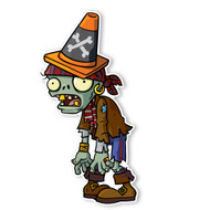 Plants vs. Zombies 2: Pirate Conehead Zombie