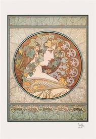 Laurel by Alphonse Mucha