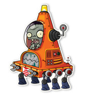Plants vs. Zombies 2: Robo Cone Zombie