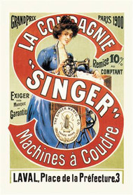 La Compagnie Singer, Grand Prix 1900