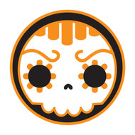 Not Day Of The Dead (Orange)