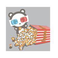 Angry Panda: Popcorn